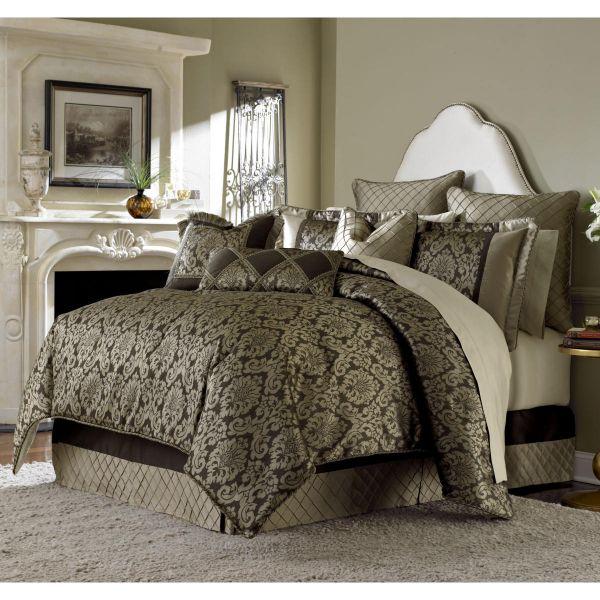 King Comforter Bedding Set By Aico, Michael Amini Bedding